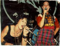 Kathleen Hanna Joan Jett 14 July 1994 photo